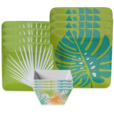 Certified International Paradise 12-Piece Dinnerware Set