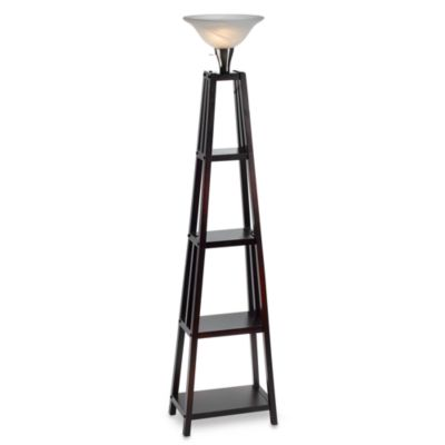 Etagere Wood Lamp