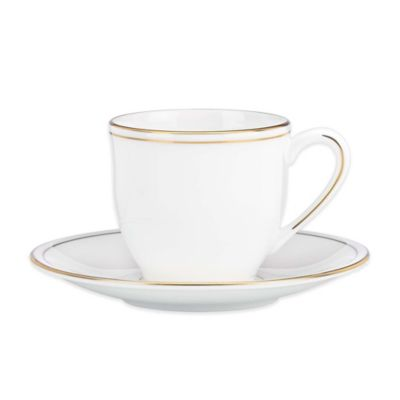Lenox® Federal Gold Espresso Cup and Saucer