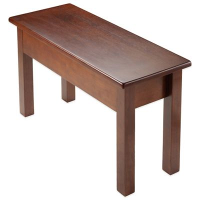 Winsome Trading Emmett Bench with Seat Storage