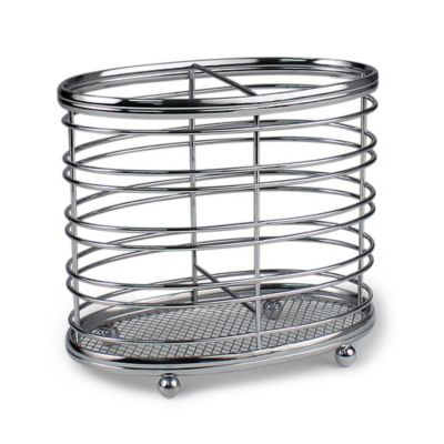 Spectrum™ Contempo Steel Utensil Holder
