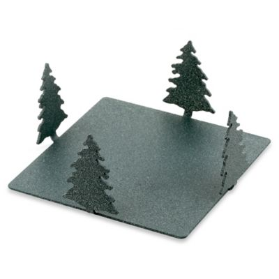 Thirstystone® Forest Metal Square Coaster Caddy in Spruce