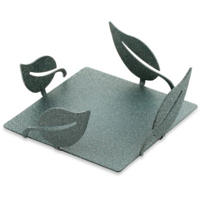 Thirstystone® Garden Metal Square Coaster Caddy in Spruce
