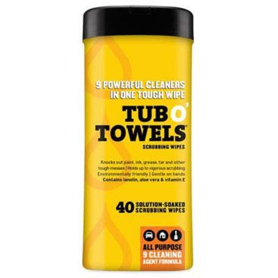 40-Count Tub O' Towels