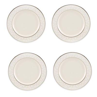 Pearl White Tidbit Plates