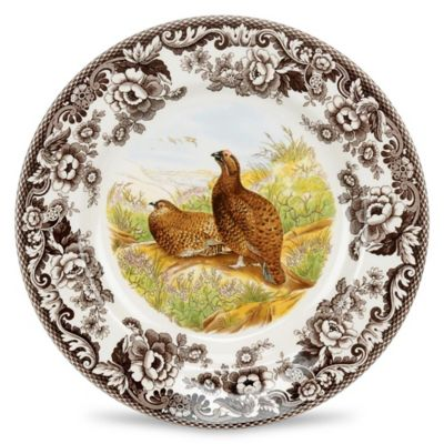 Spode® Woodland Red Grouse Dinner Plate