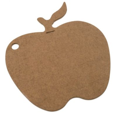 Epicurean® 15-Inch x 12-Inch Apple Shape Cutting/Serving Board in Nutmeg