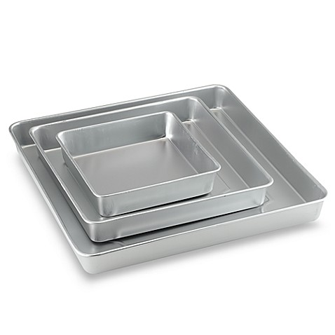 Wilton® 3-Piece Square Cake Pan Set