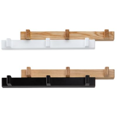 Umbra® Switch Hook in Black/Natural