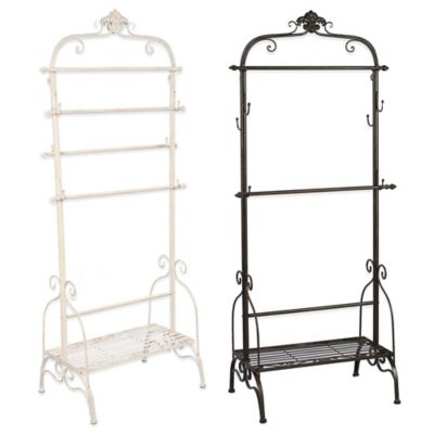 Fashion Display Rack in Cream