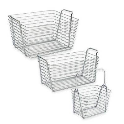 InterDesign® Medium Classico Basket in Chrome