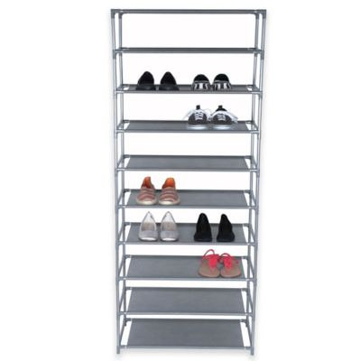 Grey Shoe Racks & Storage