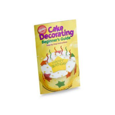 Wilton Cake Decorating Kits Beginners : Wilton  Cake Decorating Beginner s Guide Book - buybuy BABY