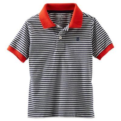Red/Navy Stripe