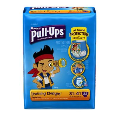 Pull-Ups® Learning Designs® Jumbo 22-Count Disposable Boy's 3T in 4T Training Pants