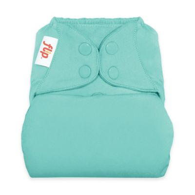 Flip™ Diaper Cover with Snap Closure in Mirror