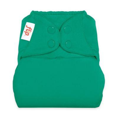 Flip™ Diaper Cover with Snap Closure in Hummingbird