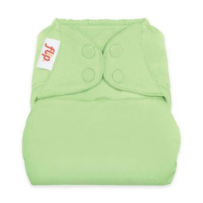 Flip™ Diaper Cover with Snap Closure in Grasshopper