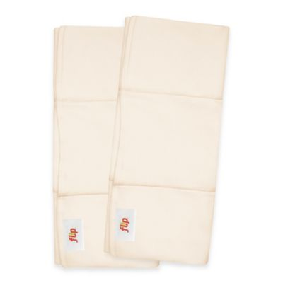 Flip™ 2-Count Night Time Organic Cotton Inserts
