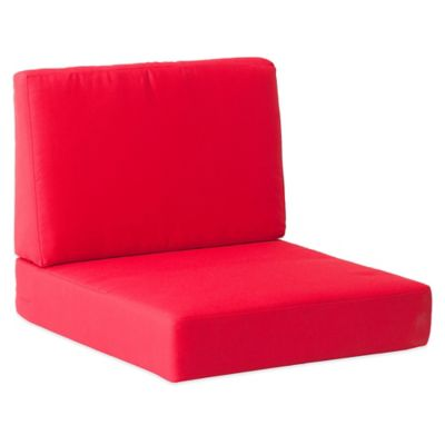 Red Patio Chair Cushion
