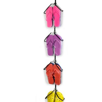Perfect Curve Over-the-Door Flip Flop Rack Deluxe