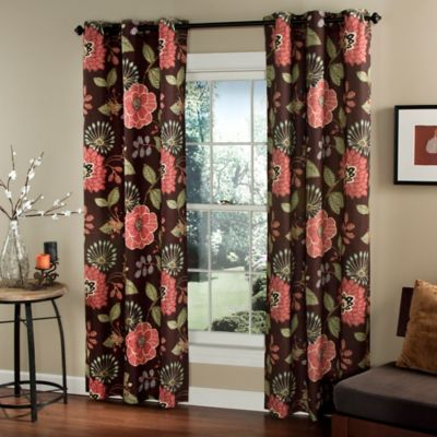 m.style Morgan 84-Inch Window Curtain Panel Pair in Purple