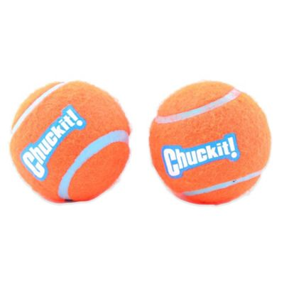 Petmate® Chuckit!® Large Tennis Ball in Orange (Set of 2)
