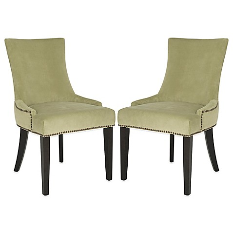 buy safavieh lester dining chairs in mint green set of 2 from bed bath beyond