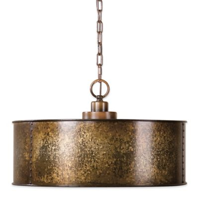 Uttermost Wolcott 3-Light Pendant Lamp