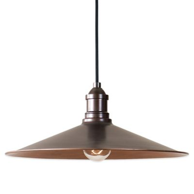 Uttermost Barnstead Pendant Lamp in Antique Copper