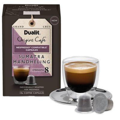 Dualit® 50-Count Origins Sumatra Mandheling Espresso Capsules