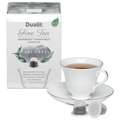 Dualit Fine 50-Count Earl Grey Tea Capsules