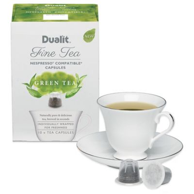 Dualit® Fine 50-Count Green Tea Capsules