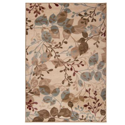 Style Statements Napal 5-Foot 3-Inch x 7-Foot 6-Inch Area Rug in Beige