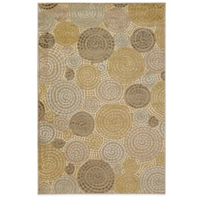 Style Statements Vogler 5-Foot 2-Inch x 7-Foot 6-Inch Area Rug in Taupe
