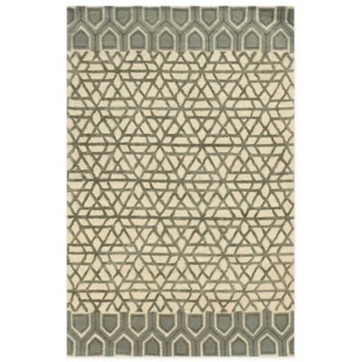 Rizzy Home Eden Harbor Geometric 8-Foot x 10-Foot Area Rug in Ivory