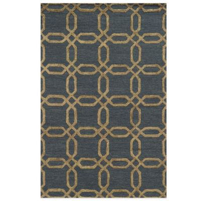 Blue Links Rug