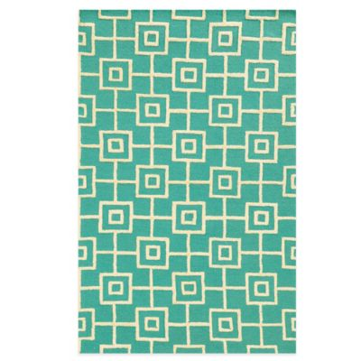 Rizzy Home Eden Harbor Tribal 8-Foot x 10-Foot Area Rug in Blue
