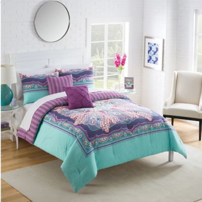 Vue® Khaleesi Reversible Twin Comforter Set in Multi