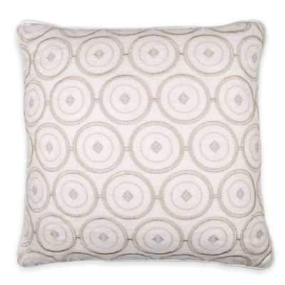 Ivory/Taupe Throw Pillows