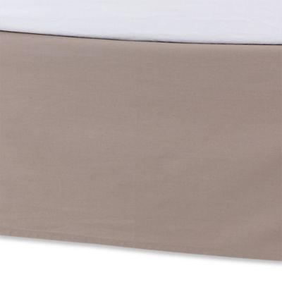 Kenneth Cole Reaction Home Structure California King Bed Skirt in Mushroom