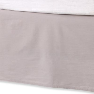 Kenneth Cole Reaction Home Structure Twin Bed Skirt in Silver