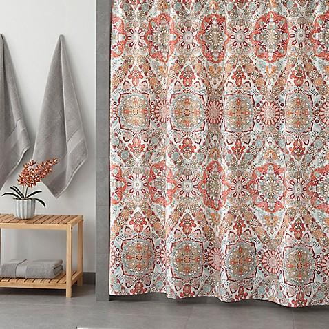 Under the Canopy Adventurer Organic Shower Curtain in
