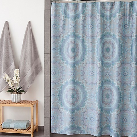 Under The Canopy Lightworker Shower Curtain In Blue Bed Bath Beyond
