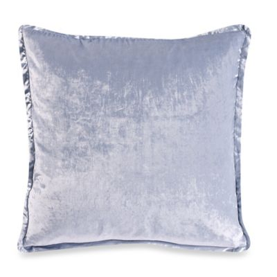 The Tallulah Collection by Kevin O'Brien Floral and Ferns Square Throw Pillow in Indigo