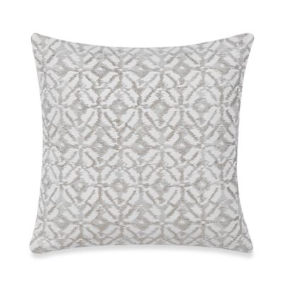 Real Simple® Lucia Square Throw Pillow in Taupe