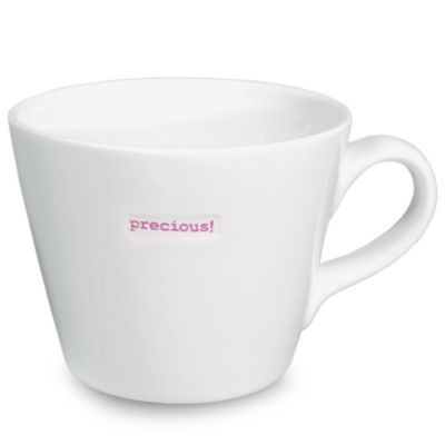 "Keith Brymer Jones Word Range ""precious"" Bucket Mug"