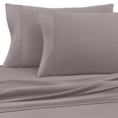 SHEEX® Luxury Copper Performance King Sheet Set in Taupe