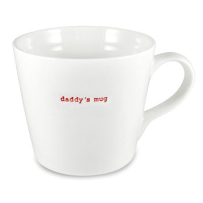 "Keith Brymer Jones Word Range Large ""daddy's mug"""