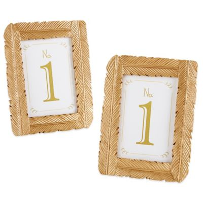 Gold Wedding Frames